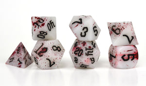 Darkly Dreaming Fortune Feyvours Resin Dice Set