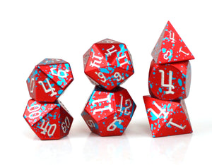 Kaiju Aluminium Dice Set of 7