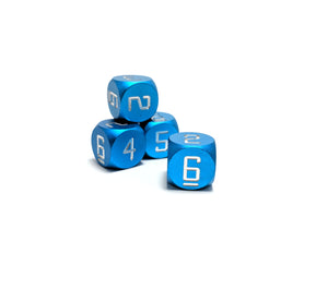 Light Blue D6 Aluminium