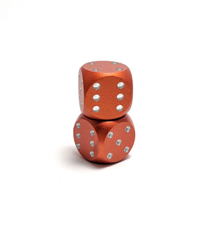 Orange Mini D6 Aluminium