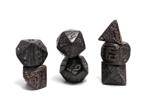 Wenge Wood Dice Set