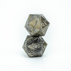 Damascus Steel D20