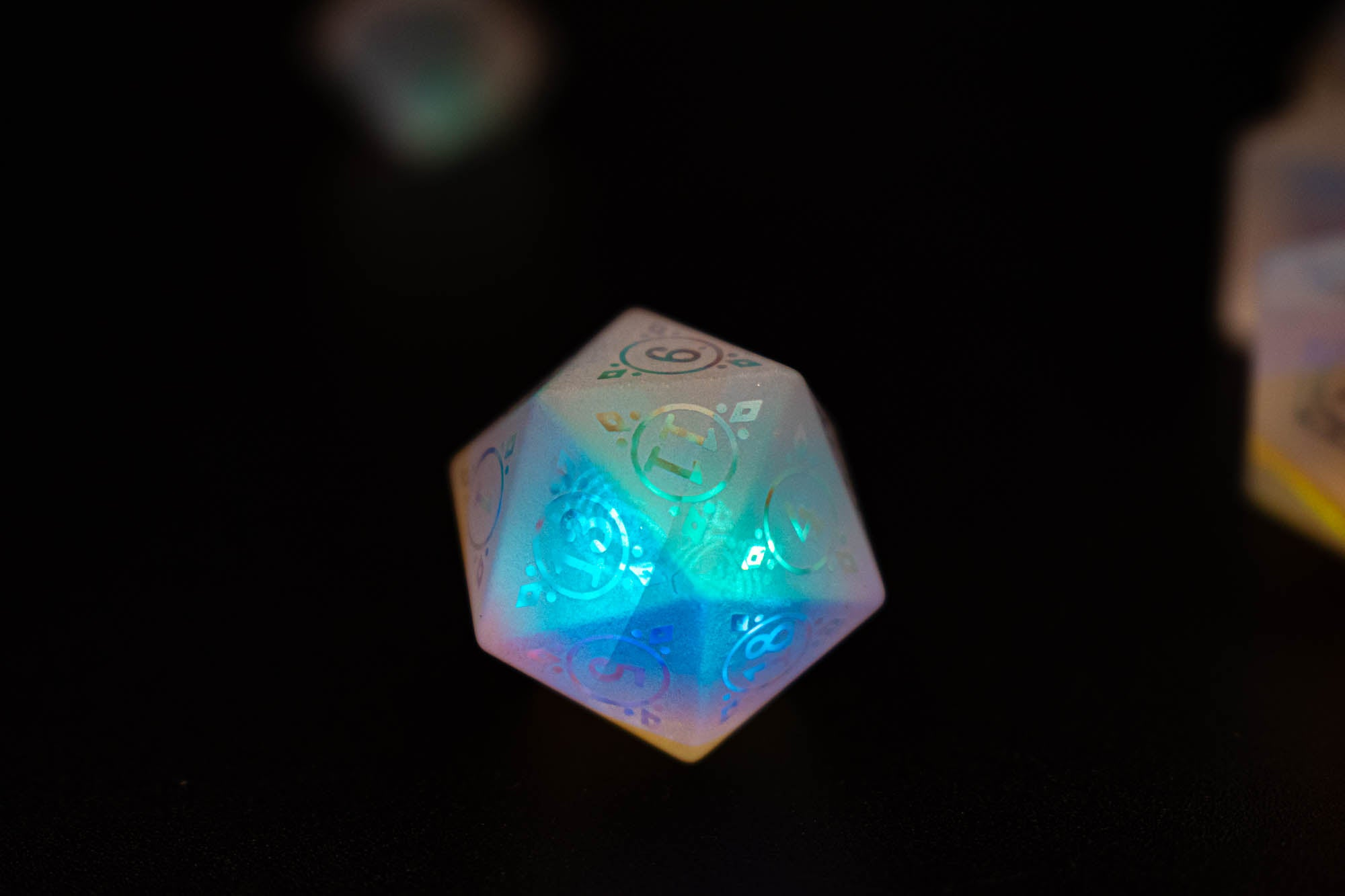 Stained Holographic Glass