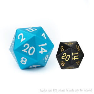 Blue Tableshaker 30mm Aluminium D20