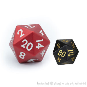 Red Tableshaker 30mm Aluminium D20