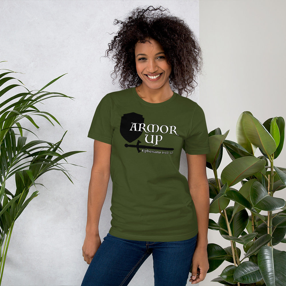 Armor Up Short-Sleeve Unisex T-Shirt - Dark Colors