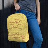 Affirmations Backpack