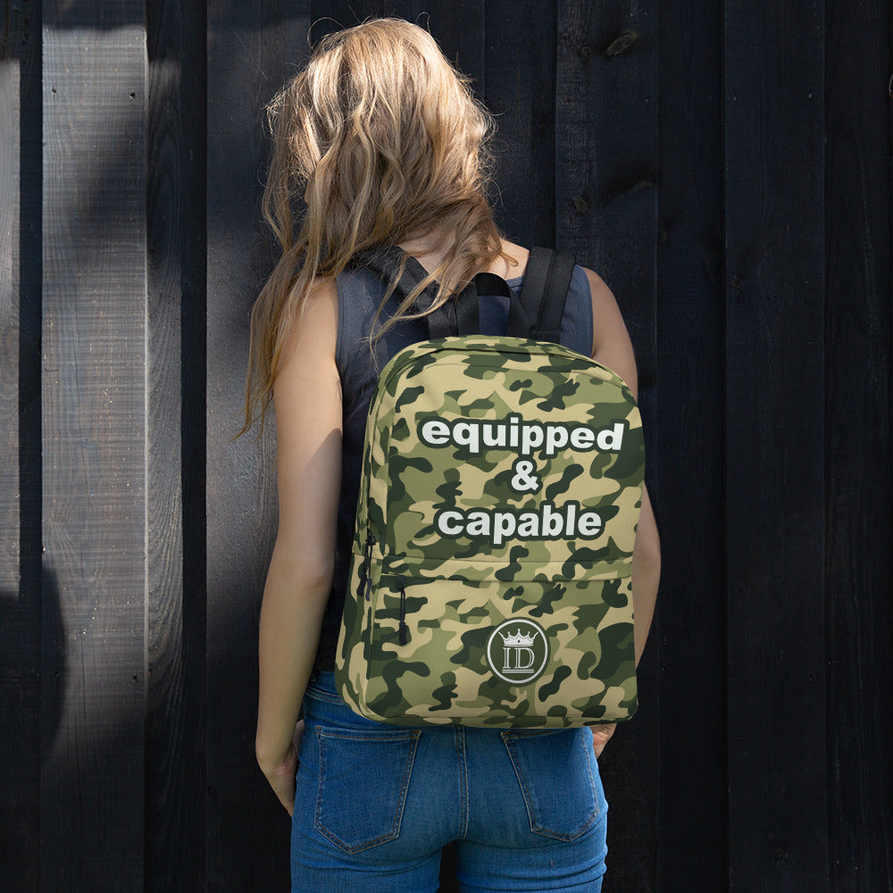 Equipped & Capable Backpack