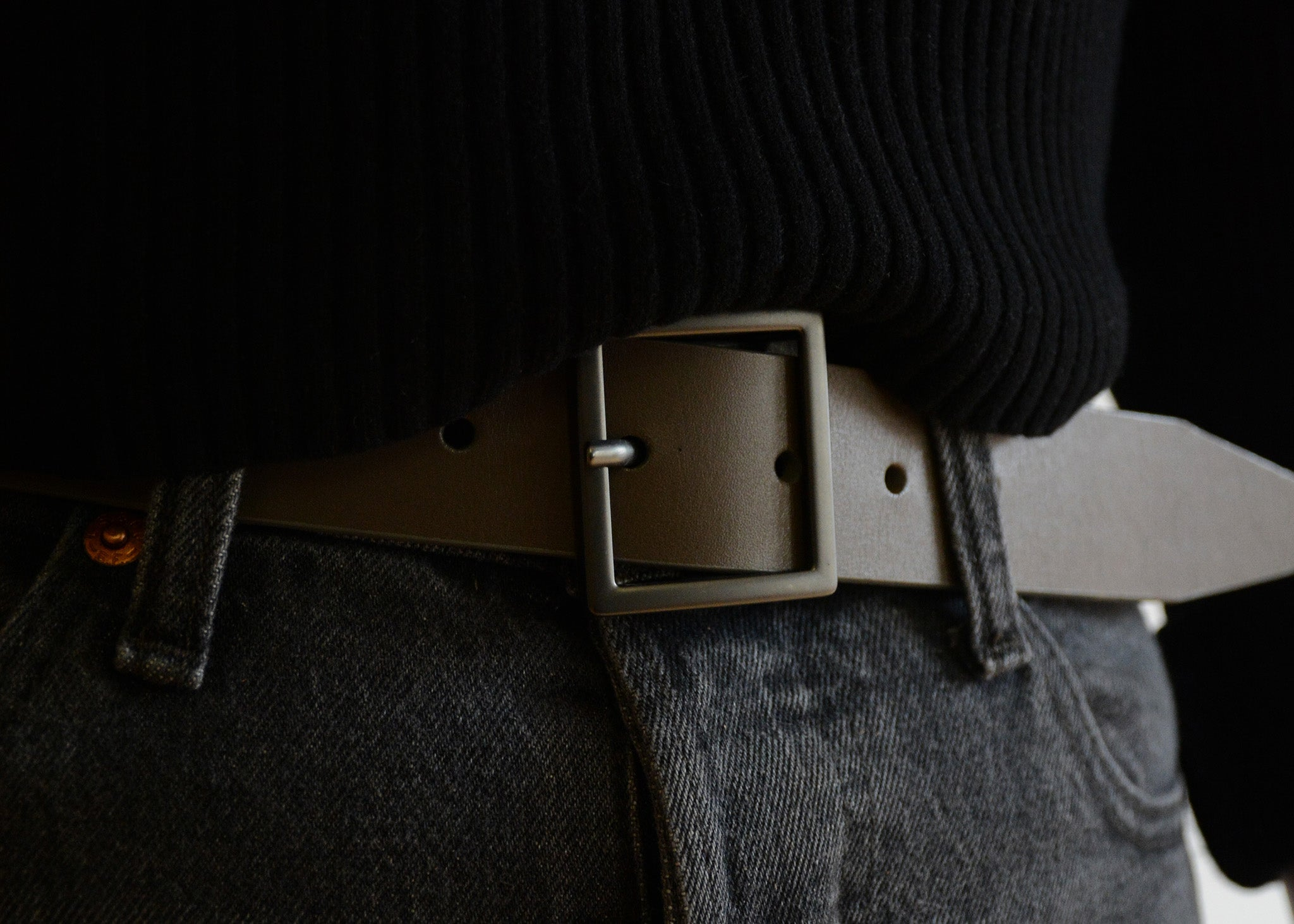 Tye Leather Belt