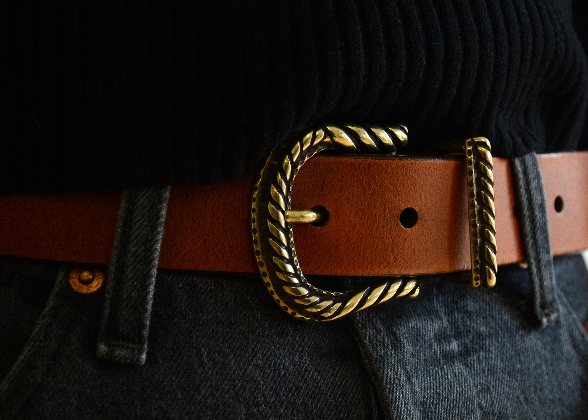 Mojca Leather Belt