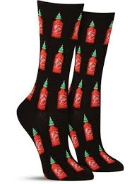 Women's Hot Sauce Socks