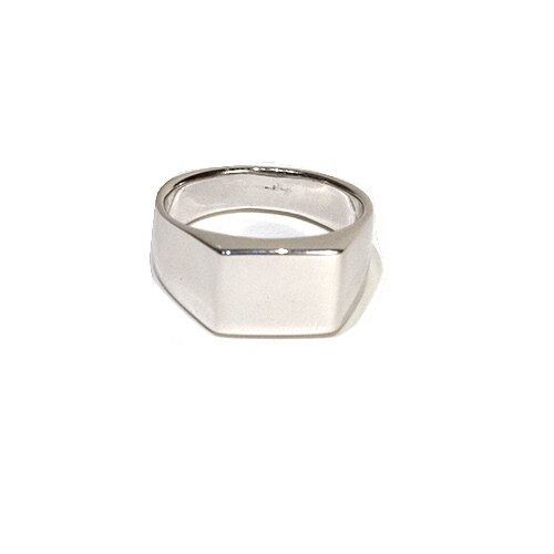 Men's Square Face Signet Ring