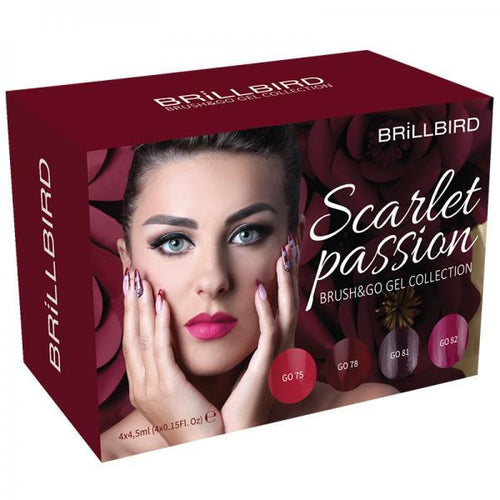 Scarlet passion Brush & go colour kit