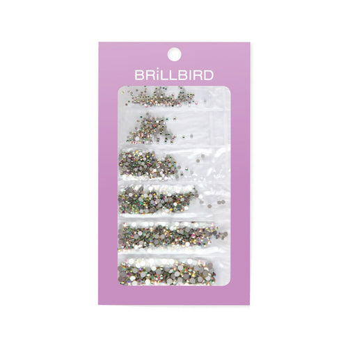 Rhinestone mix - Crystal AB