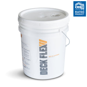 Deck Flex T2424 Elastomeric White Roof Coating (5 Gallons)