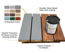 Load image into Gallery viewer, 3-Gallon Deck Flex Complete Coating Kit