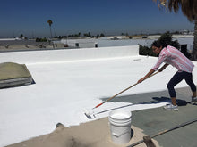 Load image into Gallery viewer, Deck Flex T2424 Elastomeric White Roof Coating (5 Gallons)