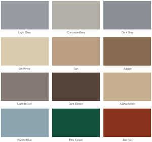 Best Deck Paint Standard Kit Colors