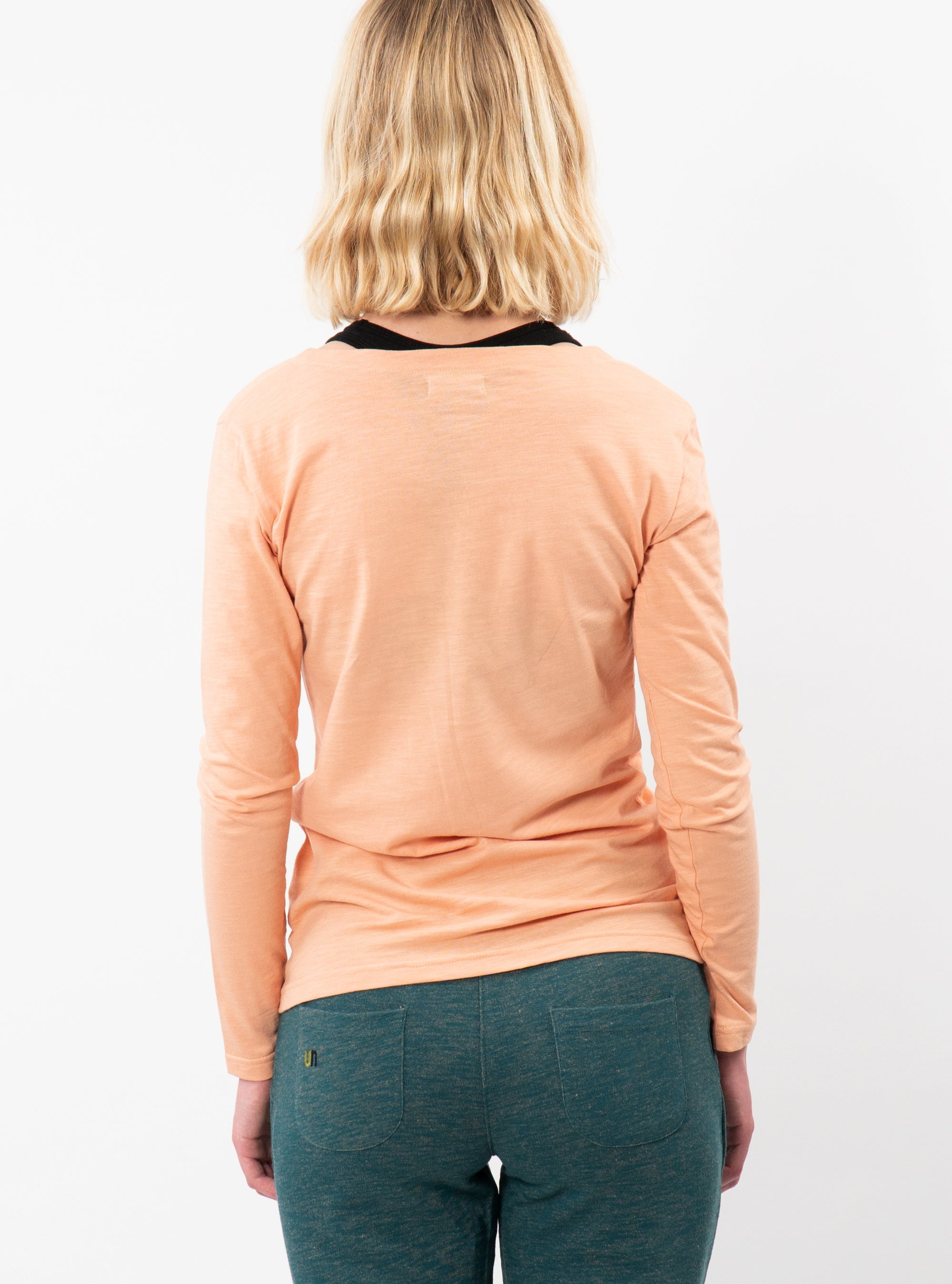 Tea Pink Chara Long Sleeve T