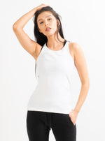 White Cassie Tank Top