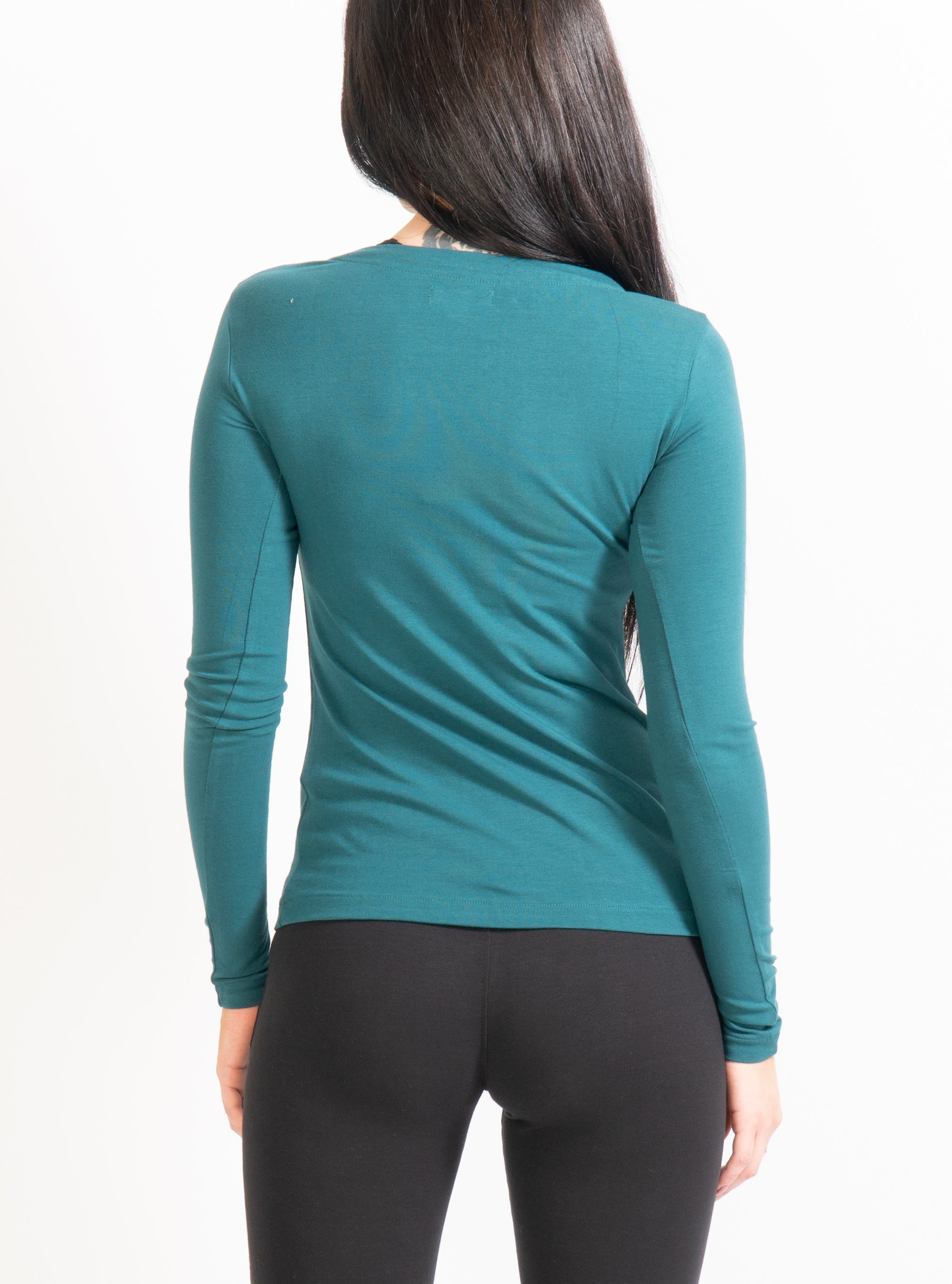 Teal Febe Long Sleeve T