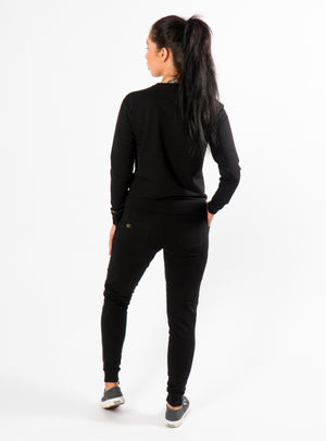 Black Lexi Sweatpants