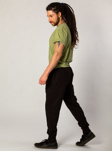 Black Evodio Sweatpants