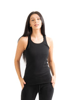 Black Cassie Tank Top