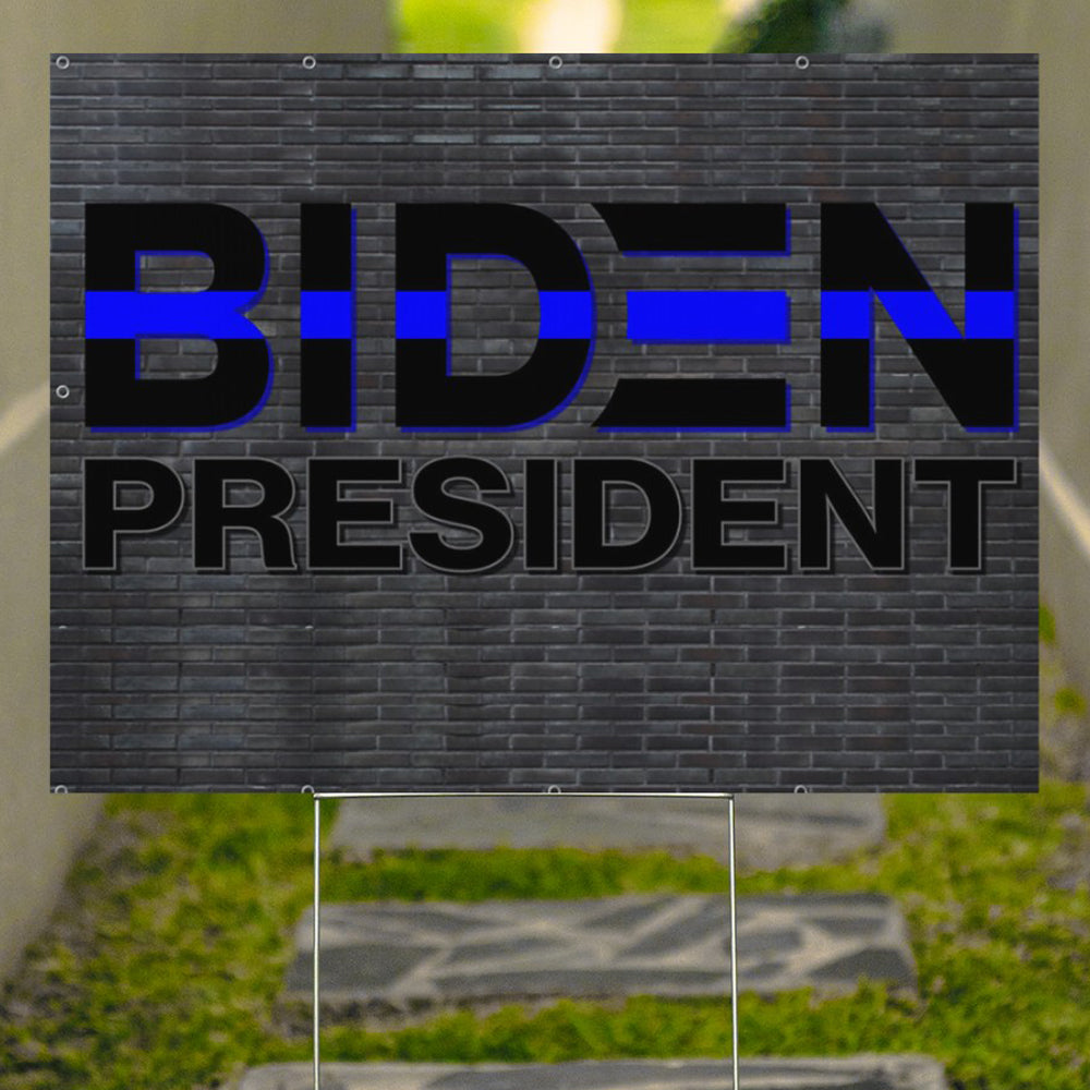 Biden President Yard Sign Joe Biden Black Voters Biden Victory Campaign For U.S 46Th President