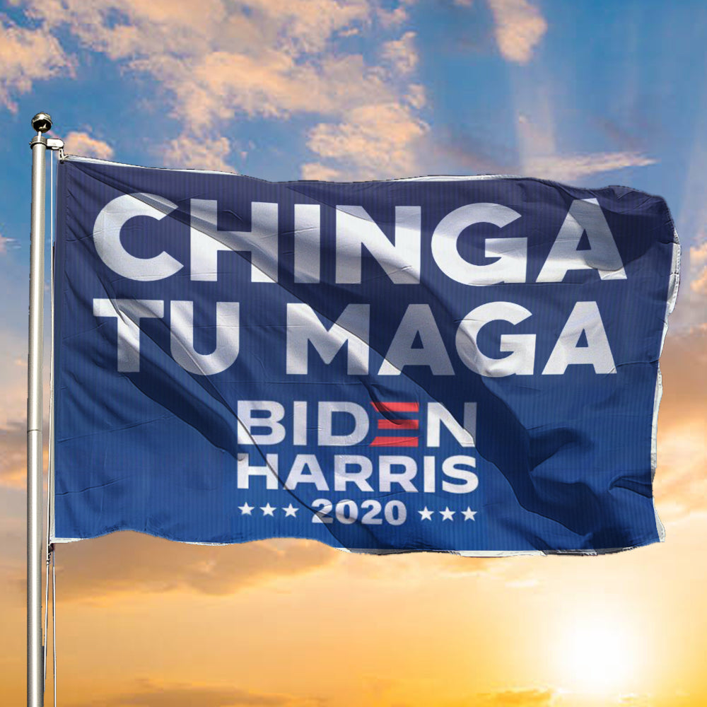 Chingatumaga Flag Biden Harris 2020 Flag Decorations Outside