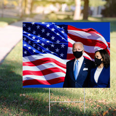 Biden Harris Yard Sign Image Utah Democratic Party Vote For Joe Biden Campaign Merchandise