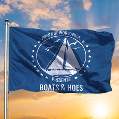 Brennan And Dale 2020 Flag Prestige Worldwide Presents Boats And Hoes 2020 Lawn Flag Decor