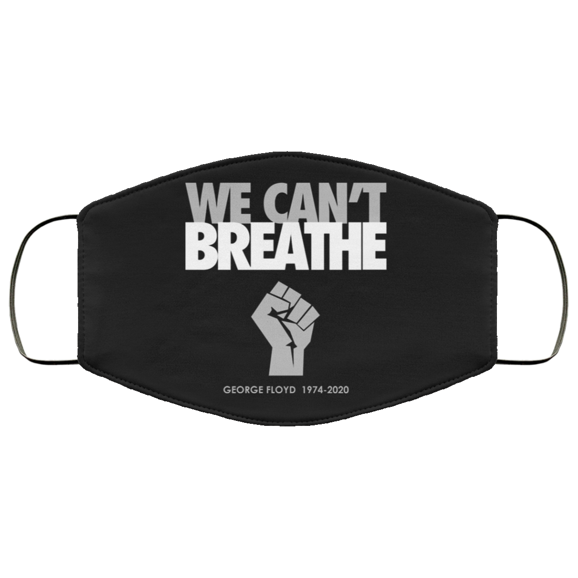 We Can't Breathe Face Masks Justice For George Floyd Face Masks Black Lives Matter Shirt Protest