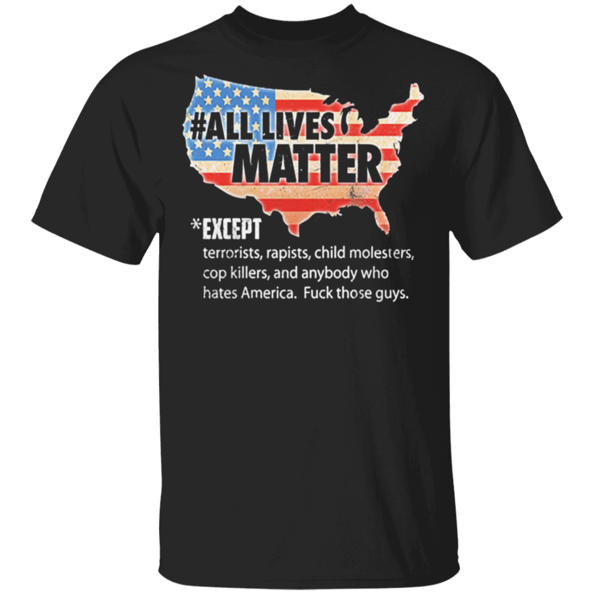 George Floyd All Lives Matter Shirt Cop Killers Fuck The Police T-Shirt