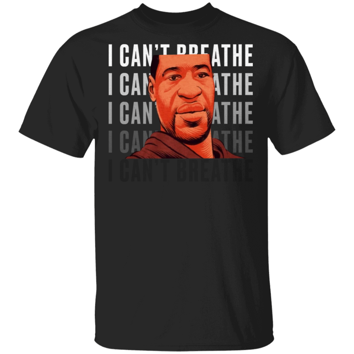 George Floyd I Can't Breathe T-Shirt Justice For George Floyd Shirt