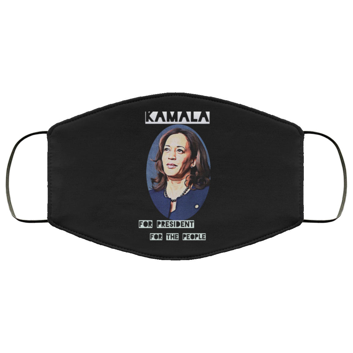 Kamala For President For The People Kamala Harris 2020 Face Mask
