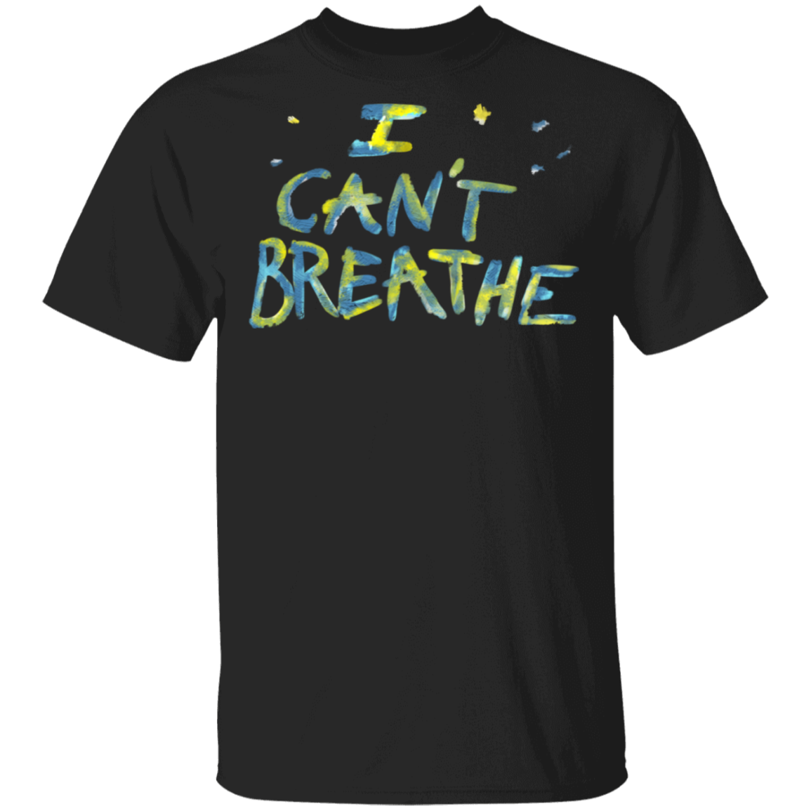 George Floyd I Can't Breathe T-Shirt - Justice For Big Floyd Shirt Protest