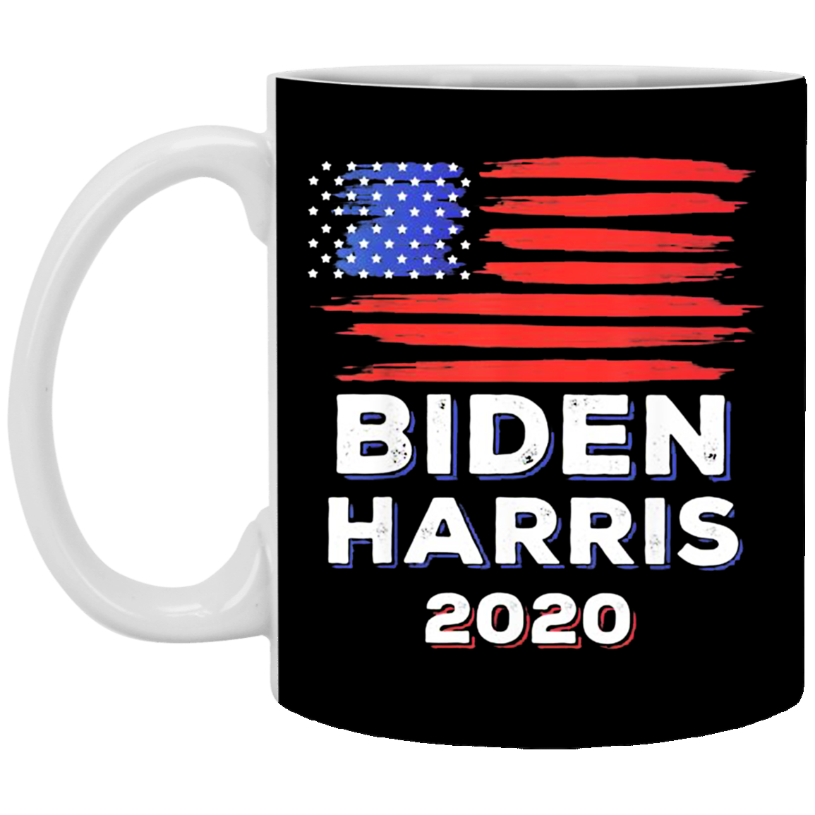 Biden Harris 2020 Mug American Flag With Vintage Style For Biden Voters Biden Harris
