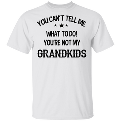 You Can't Tell To Me What To Do You're Not Grandkids Shirt Funny Tee Shirt Saying BFF Gift