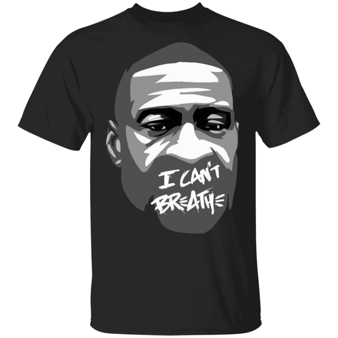 I Can't Breathe T-Shirt - George Floyd T-Shirt Justice For George Floyd Art