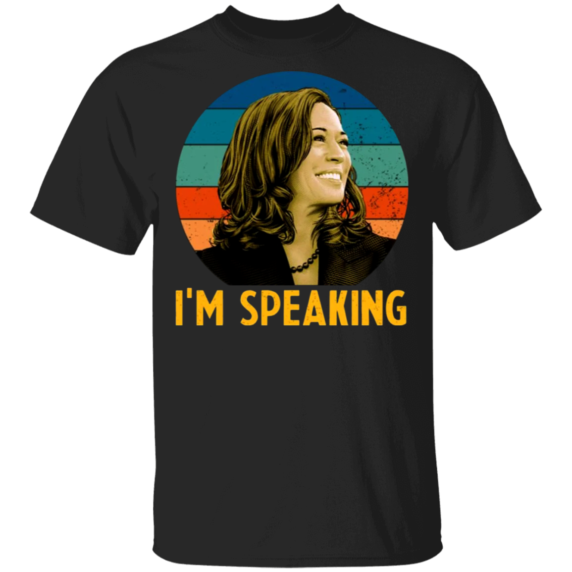 I'm Speaking Kamala T-Shirt Vintage Graphic Tee VP Vice President Debate Kamala Harris Merch