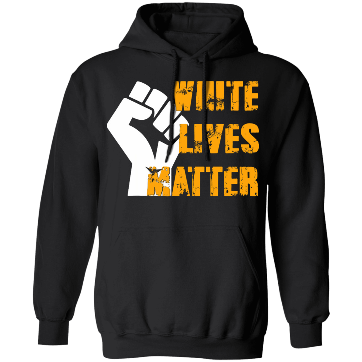 George Floyd White Silence Is Violence Hoodie Black Lives Matter Protest