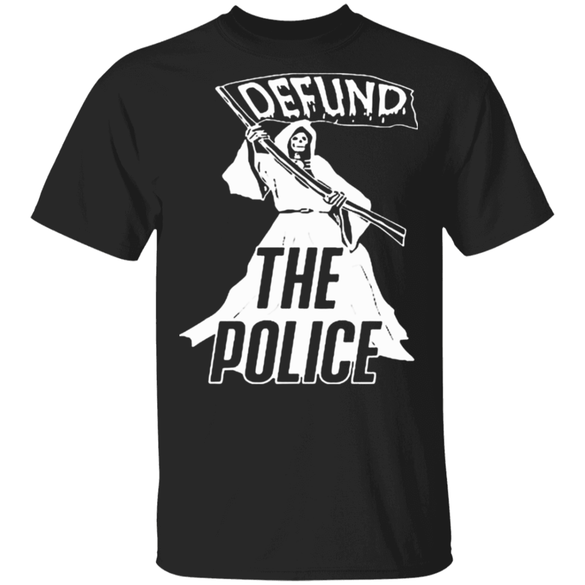 Defund The Police Is Ridiculous T-Shirt Be Kind Asl Shirt Blm Fist