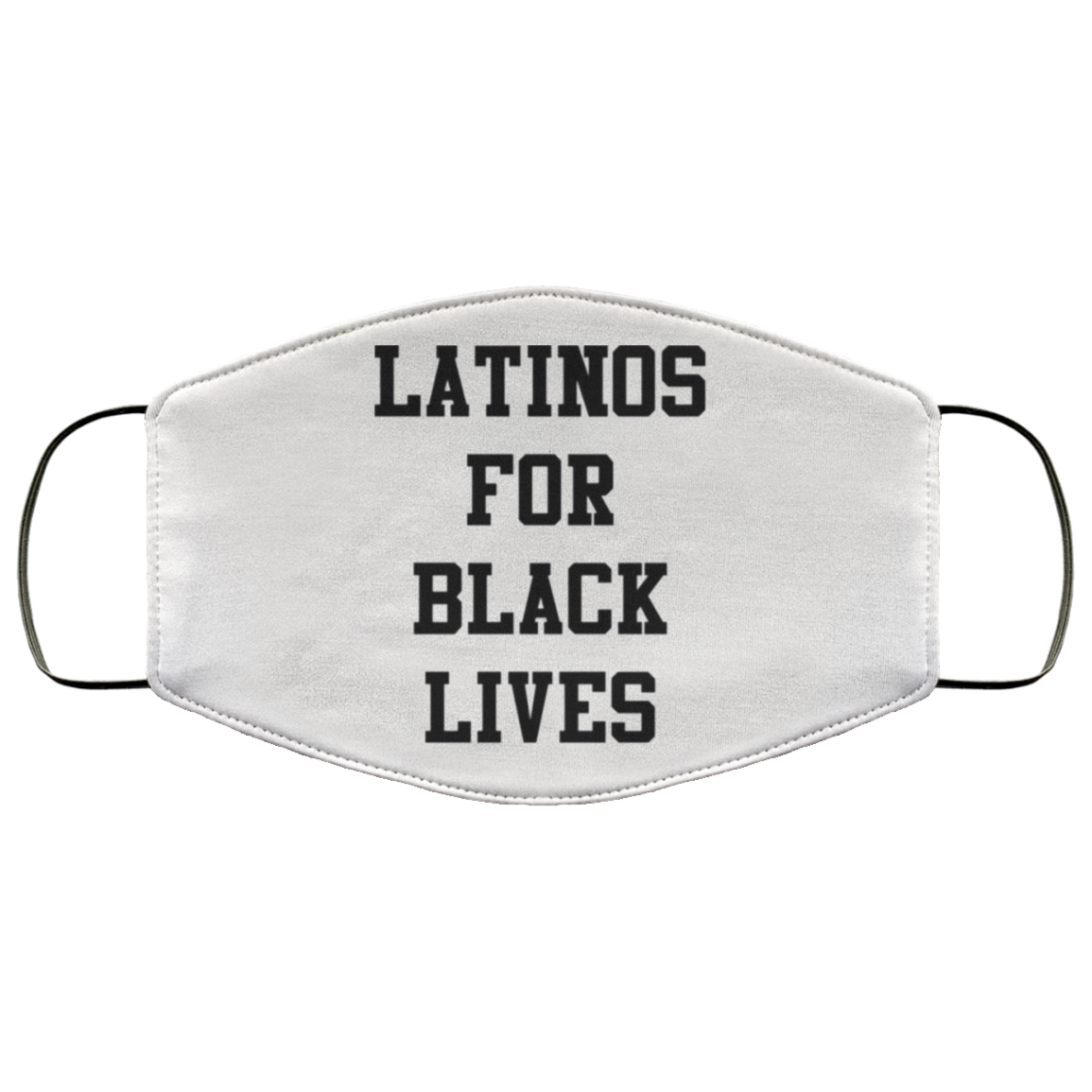 Latinos For Black Lives Face Masks, Stop Killing Black People Face Masks Protest