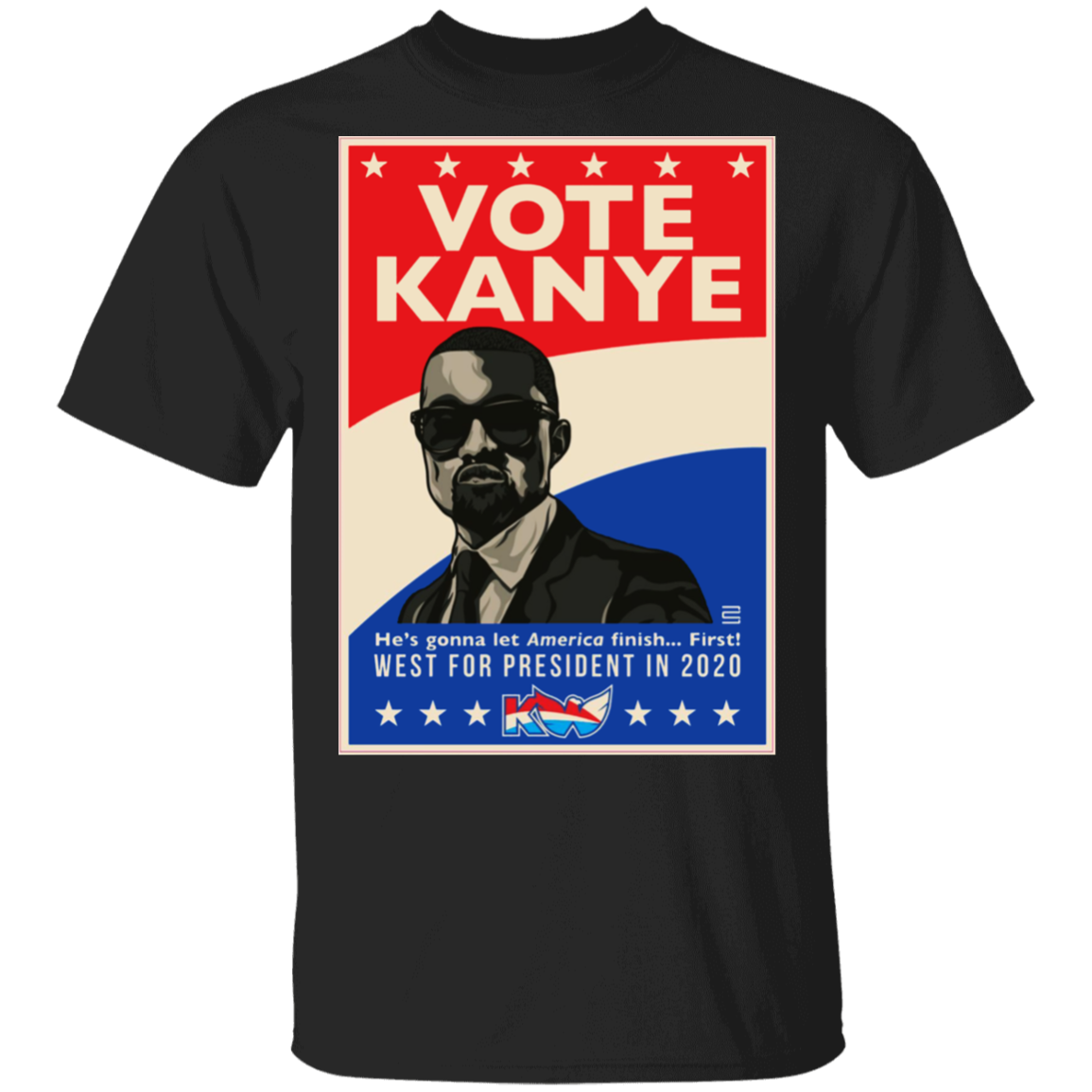 Vote Kanye West For President In 2020 Shirt