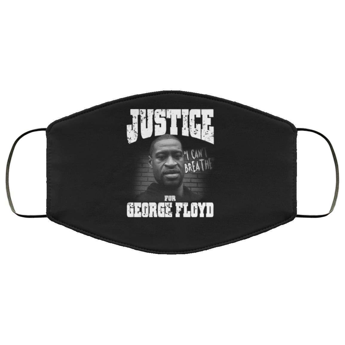 Justice For George Floyd Face Masks I Can't Breathe