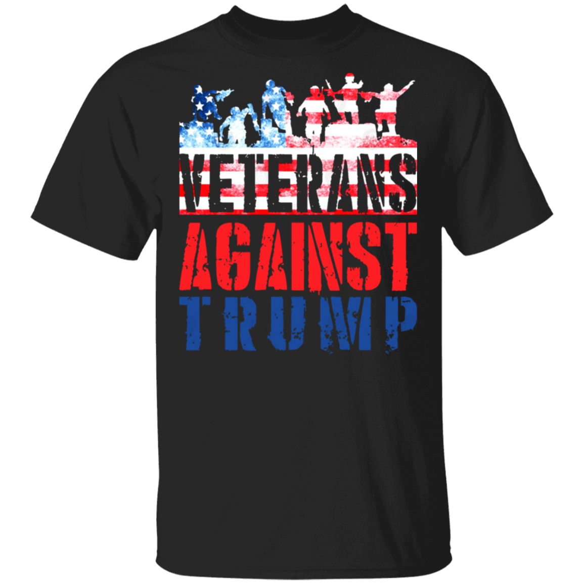 Veterans Against Trump Anti-Trump T-Shirt For Republicans Against Trump Biden 2020 Merch