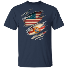 Florida American Flag T-Shirt Florida Pride Patriotic Classic Shirt Father's Day Gift Idea