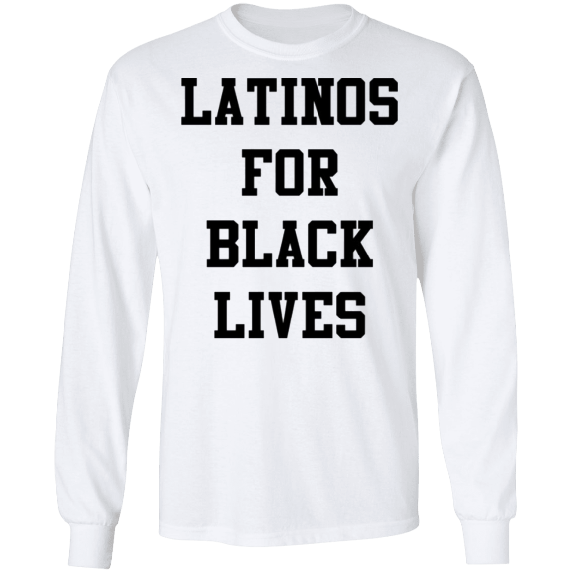 Latinos For Black Lives Sweatshirt Stop Killing Black People George Floyd Protest Blm
