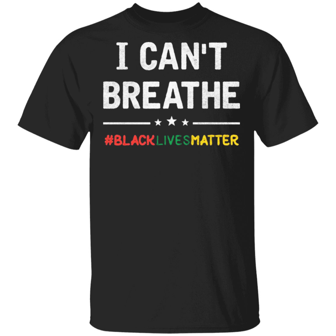George Floyd I Can't Breathe T-Shirt, Black Lives Matter Shirts Protest